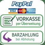 Sicher zahlen mit Paypal